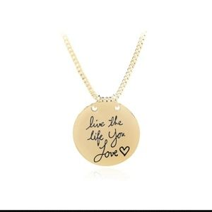 Jewelry - Inspirational necklace - double sided